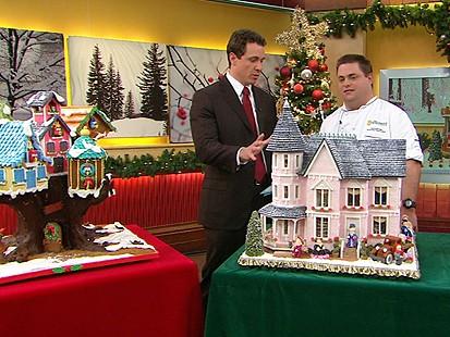 VIDEO: Award-Winning Gingerbread Houses