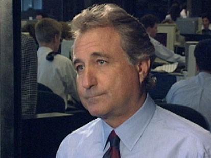 A picture of Bernard Madoff.