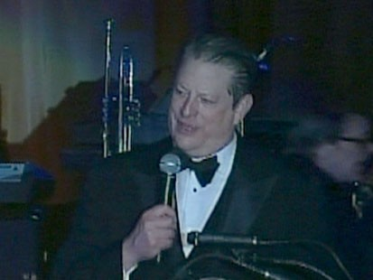 VIDEO: Al Gore speaking at the Green Ball.