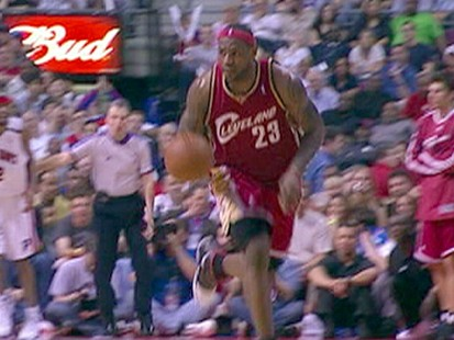 VIDEO: Lebron James Madness