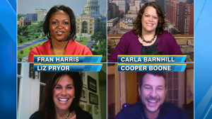 PHOTO Fran Harris, Carla Barnhill, Liz Pryor and Cooper Boone are the finalists for Good Morning Americas Advice Guru.