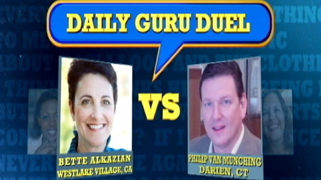 VIDEO: Bette Alkazian and Philip Van Munching respond to a viewers question.