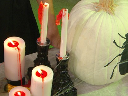 VIDEO: Sarah Gray Miller explains how to give the perfect Halloween party.