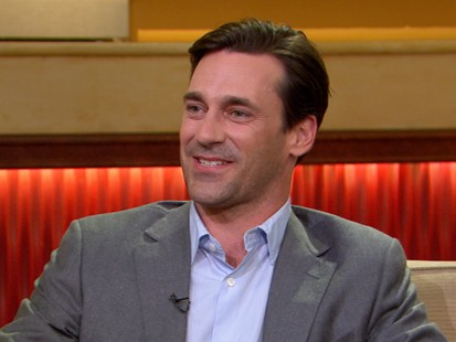 VIDEO: Golden Globe winner Jon Hamm talks about his role on the hit show.