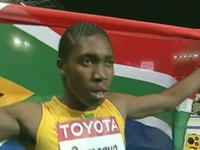 VIDEO: Gold Medal Runner Caught In Gender Bender