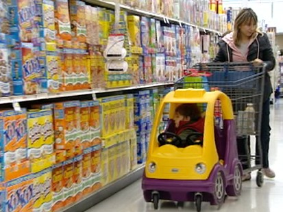 VIDEO: New study accuses food industry of pushing the least nutritious cereals on kids.