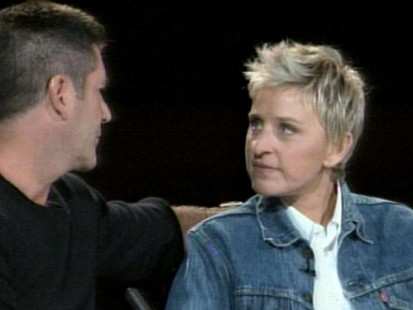 VIDEO: Ellen DeGenerous and Simon Cowell on American Idol