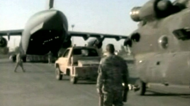 VIDEO: Mission is turned over to the Iraqi military and an unformed Iraqi government.