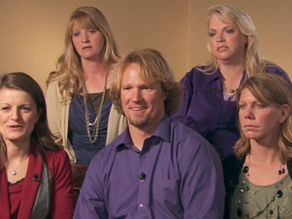 "VIDEO: Utah man accused of bigamy is the star of the new TLC show, ""Sister Wives."""
