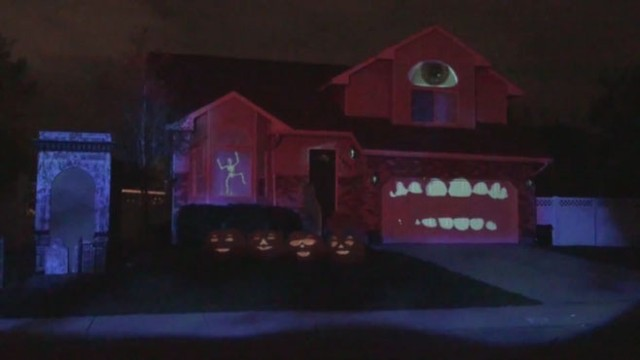 Learn How to Create Your Own Haunted House Projection Video - ABC News