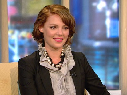 "VIDEO: Katherine Heigl talks about her new movie, ""The Ugly Truth."""