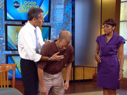 VIDEO: How to prevent a pregnant woman or obese person from choking
