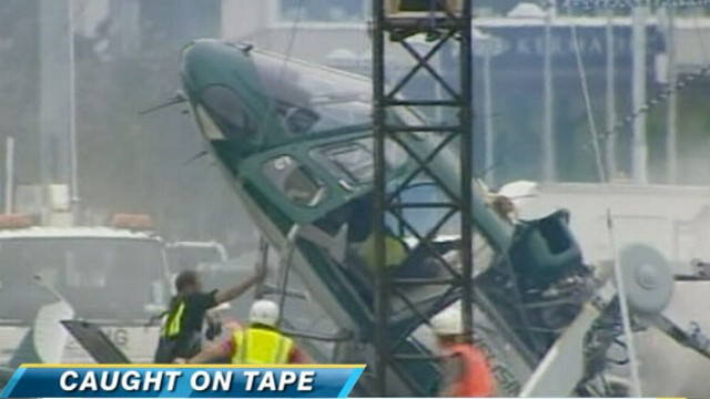 VIDEO: Pilot whose crash was caught on tape talks about his miraculous survival.