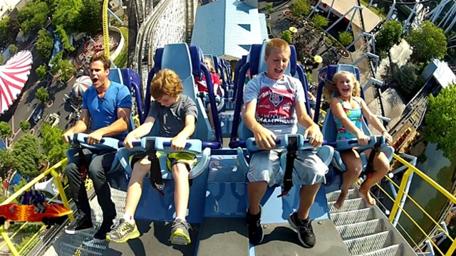 Extreme Roller Coasters Hershey Park S Sky Rush Makes Debut Video