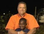 VIDEO: Hug between first grader Hezekiah Darbon and his neighbor