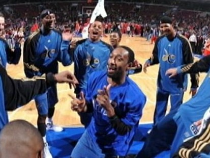 VIDEO: Gilbert Arenas Suspended in Gun Episode