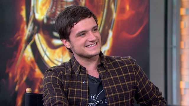 """VIDEO: The actor talks about his favorite part of playing Peeta Mellark in the """"Hunger Games"""" sequel."""