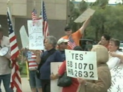 VIDEO: New Arizona Law Gets Tought on Immigrants