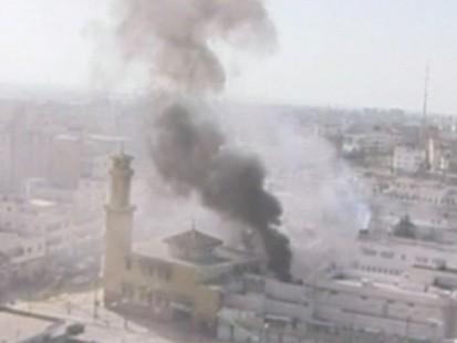 Attack Continue in Gaza Strip.