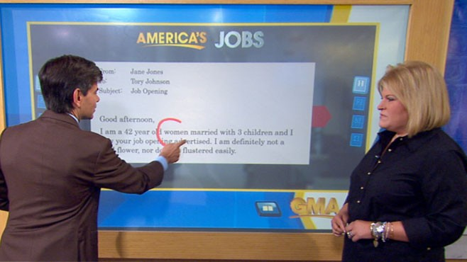 VIDEO: Tory Johnson explains how to avoid common errors when applying for jobs.