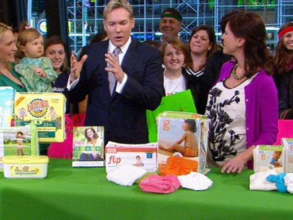 VIDEO: Sam Champion explains how to find eco-friendly diapers.