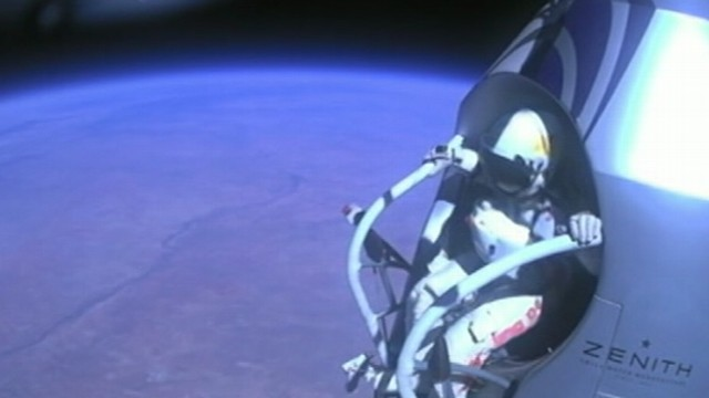 VIDEO: The stuntman set a new record for the highest jump.