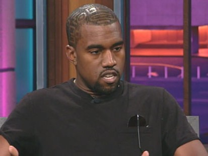 "VIDEO: Kanye West tells Jay Leno that he is sorry for his outburst at the ""VMAs."""