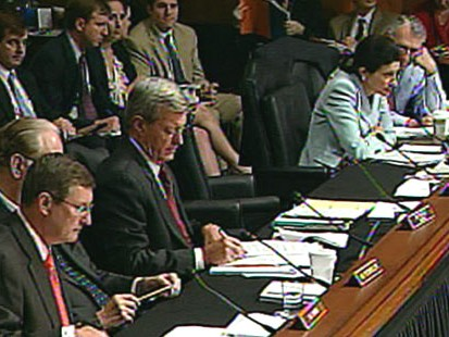VIDEO: Health care reform bill passes 14-9.