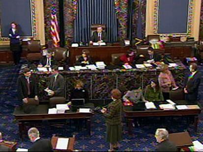 VIDEO: Senate Finally Votes on Health Care Bill