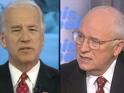 VIDEO: Joe Biden and Dick Cheneys Opposing Views