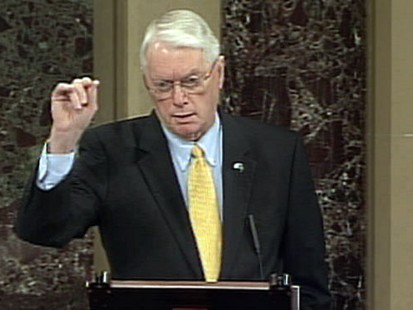 VIDEO: Jim Bunning Gives Up the Fight