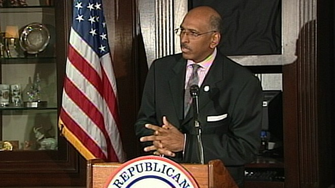 VIDEO: Senior Republicans in Congress refuse to defend RNC chairman.