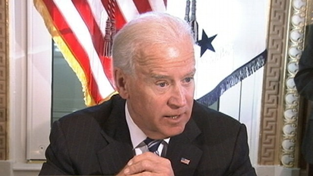 VIDEO: The vice president is set to make an announcement about measures to prevent gun violence.