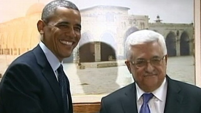 VIDEO: The president is trying to bring Israelis and Palestinians to the table.