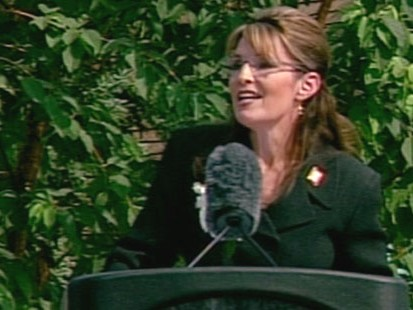 VIDEO: Sarah Palin leaves office with a growing pile of cash in her political action committee.