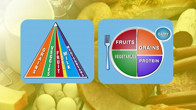 No More Food Pyramid Nutritional Icon Is Now A Plate Abc News