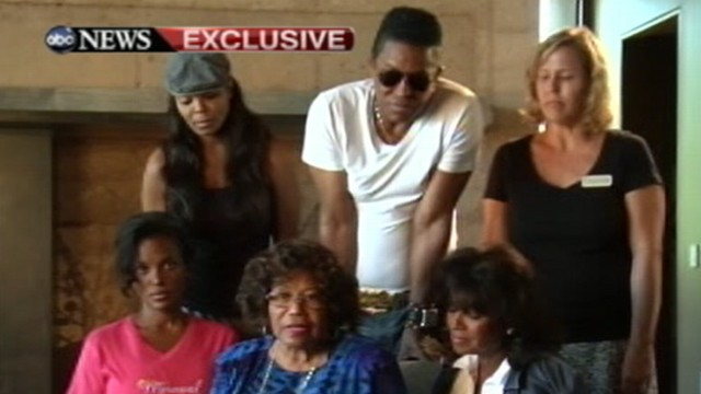 VIDEO: The matriarch of the Jackson family talks exclusively to ABC News.