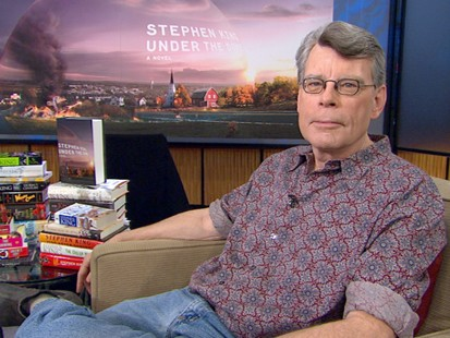 "VIDEO: The master of horror discusses his new book, ""Under the Dome."""