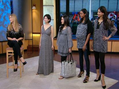 Heidi Klums Maternity Style Fashion