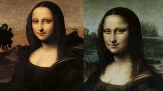 second mona lisa unveiled for first time in 40 years abc news