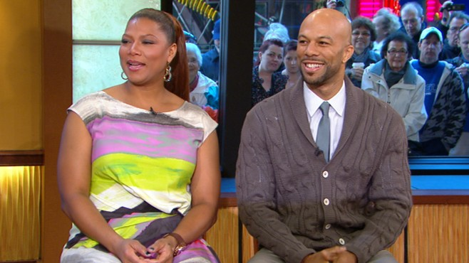 Queen Latifah and Common on 'Just Wright' Video - ABC News