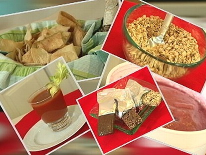 VIDEO: Report says granola, smoothies, energy bars and vegetable juice not as healthy as we think.
