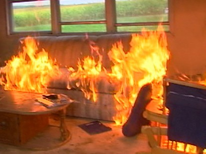 VIDEO: Some homeowners may be burning their homes to collect insurance money.