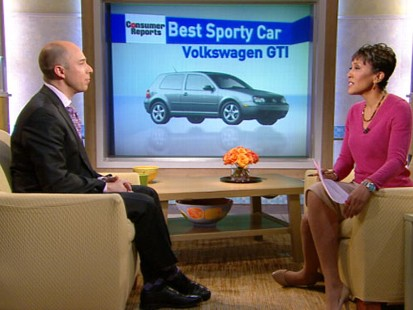 VIDEO: Consumer Reports unveils its selection of the best cars in various categories.