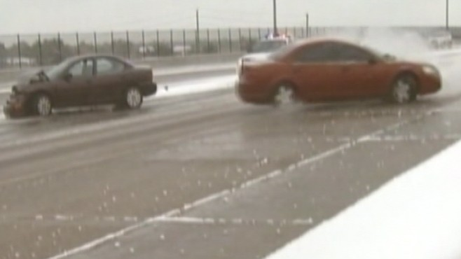VIDEO: Instructor Mark Cox has tips for handling cars in the most extreme elements.
