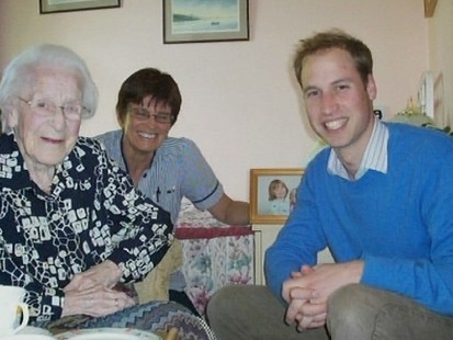 VIDEO: Prince William Visits 109-Year-Old Woman
