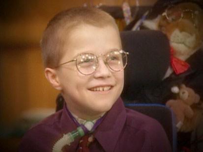 A picture of Mattie Stepanek.