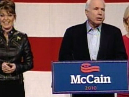 VIDEO: McCain and Palin Together Again