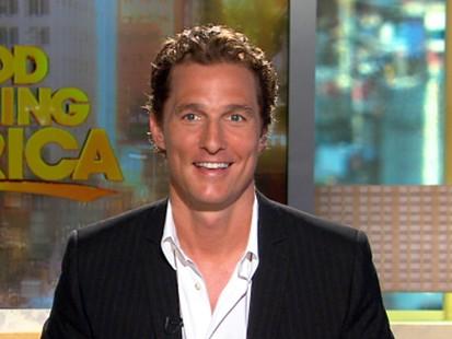 VIDEO: Matthew McConaugheys Ghosts of Girlfriends Past