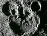 VIDEO: Overlapping craters on the planet?s surface show a resemblance to the iconic Disney character.